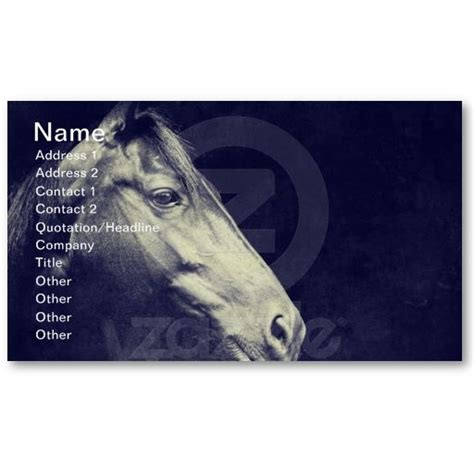 equine business cards templates 17 best images about business cards for the equine