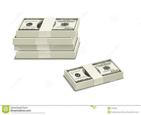 Stack Of $100 Bills Royalty Free Stock Photos - Image: 7372358 $100 Bill Stack