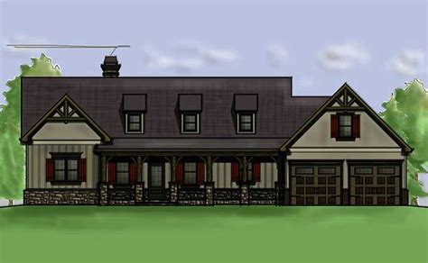 4 bedroom floor plan ranch house plan by max fulbright