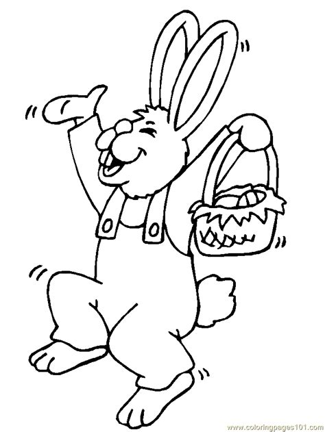 hopping bunny coloring page easter bunny hopping coloring page free easter bunnies