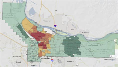 clackamas county tax maps how do your property taxes compare to your neighbors