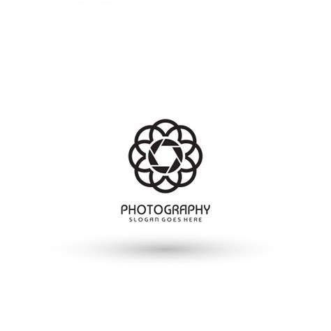 photography logo template abstract photography logo template vector free