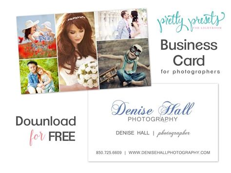 lightroom business card template 17 best images about photography the