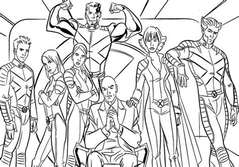 coloring page xmen x nightcrawler coloring pages 2 coloring pages