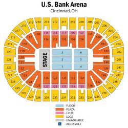 map us bank arena eric church and justin october 06 tickets cincinnati u s bank arena eric church and