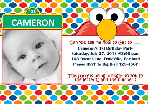 elmo template for invitations free printable elmo 1st birthday invitations template