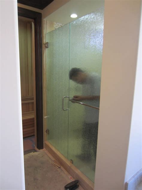 Privacy Glass Rain Glass Enclosure Patriot Glass And Shower Door Privacy