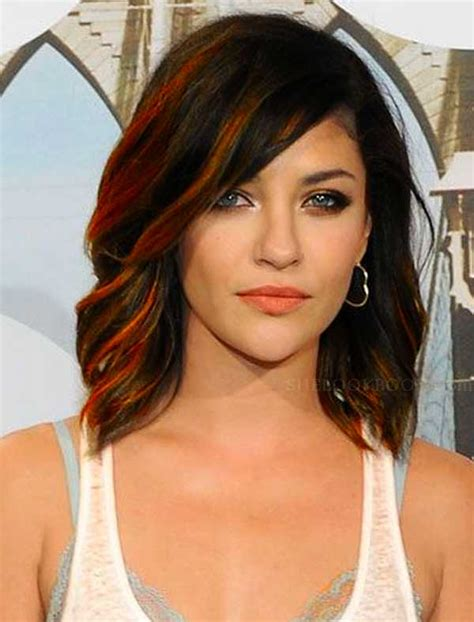 above shoulder wavy hair with bangs hairstyles for over 50 in 2013 2017 2018 best cars reviews