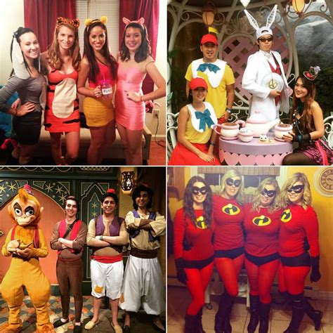 diy disney group costumes popsugar smart living