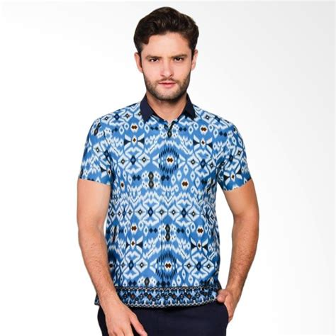 jual adiwangsa model slim fit modern baju kemeja batik