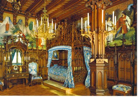 Wohnzimmer Ideen Bilder 3547 by King Ludwigs Castle Neuschwanstein Royal Bedroom I