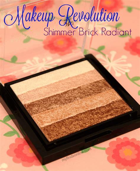 Makeup Revolution Shimmer Brick makeup revolution shimmer brick radiant myfindsonline