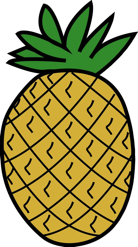 clipart pineapple clipart pineapple 3