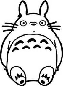 ghibli totoro head decal cute funny vinyl car truck window sticker