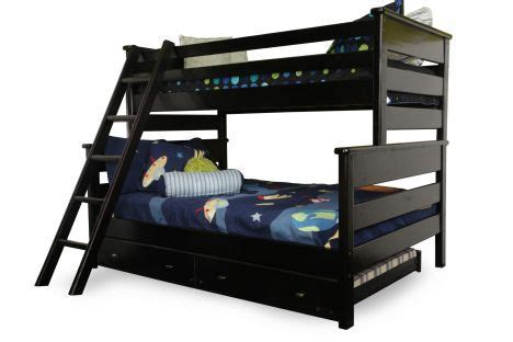 Bunk Beds Bc Twood Tw Fl 4547 Bc Trendwood Laguna Black Cherry Bunk Bed With Trundle