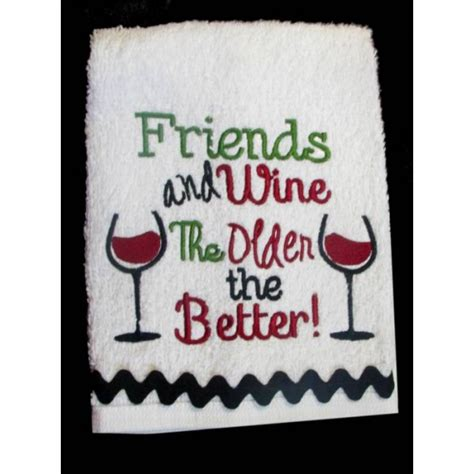 Kitchen Towels With Sayings Wine Kitchen Towel Sayings Nobbieneezkids