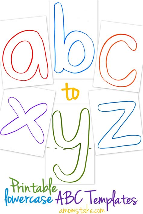 printable alphabet book template printables munchkins and mayhem