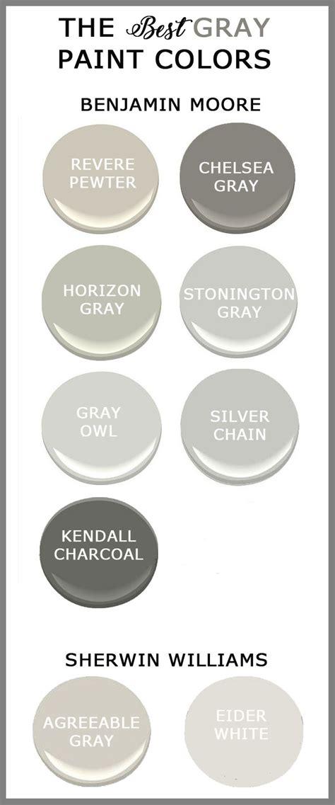best grey paint colors 2017 the best gray paints for your home cedar hill farmhouse