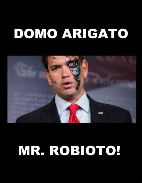 Domo Meme - domo arigato mr robioto politicalstreetsmarts blogspot