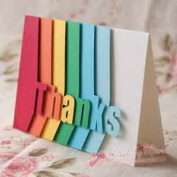 Designs For Handmade Cards - 25 best thank you cards ideas on