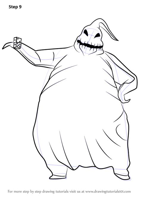 learn how to draw oogie boogie from the nightmare before