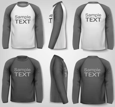 t shirt template cdr t shirt ai template free vector 55 330 free