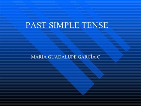 lesson plan 10 octavo past simple tense simple past tense