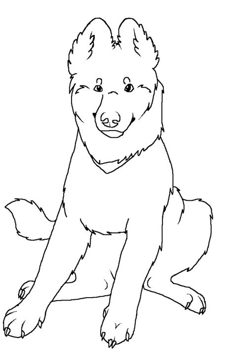 coloring pages of german shepherd german shepherd coloring pages sketch coloring page