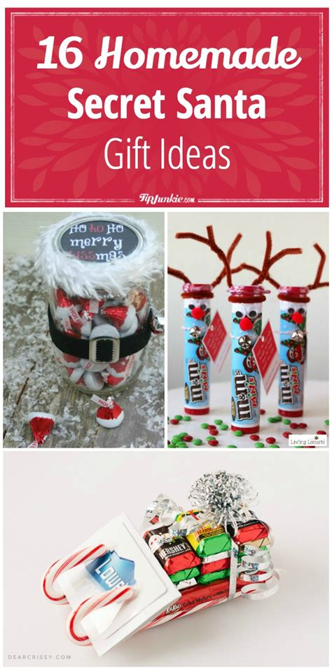 16 homemade secret santa gift ideas tip junkie