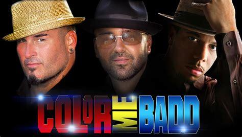 color me badd tour calderon of color me badd talks i the 90 s tour
