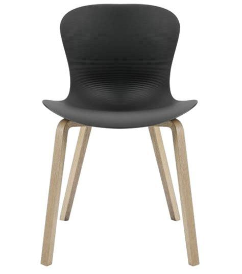 furniture legs for chairs nap wooden legs chair fritz hansen milia shop