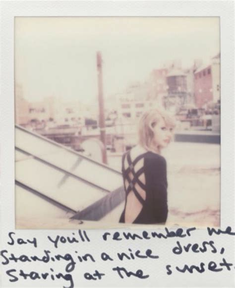 taylor swift wildest dreams clean taylor swift 1989 polaroid for wildest dreams 1989