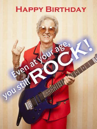 Rock Birthday Cards