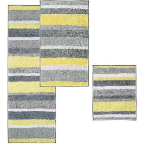 Yellow And Gray Bath Mat Gray And Yellow Bathroom Rugs Best Bathroom Decoration
