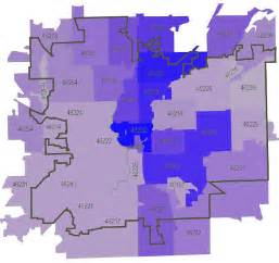 Indianapolis In Zip Code Map by And The Survey Says Onthecusp Org