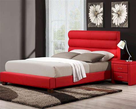 homelegance red bedroom set aven el  set