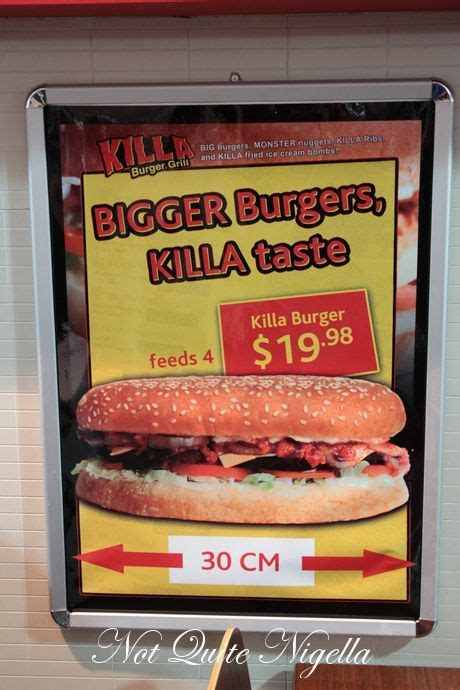killa burger challenge killa burger carramar the 30cm burger challenge not