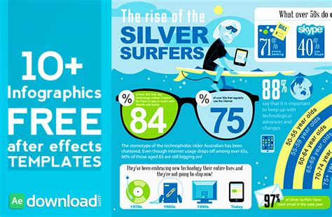 10 top hud infographics free after effects templates