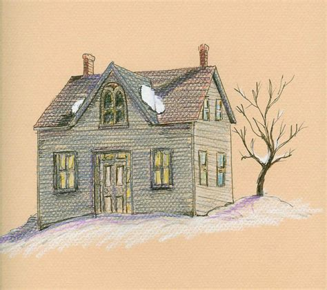 houses drawings ronna s blog drawing old houses
