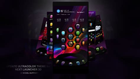 next launcher themes latest next launcher theme ultracolor by karsakoff on deviantart