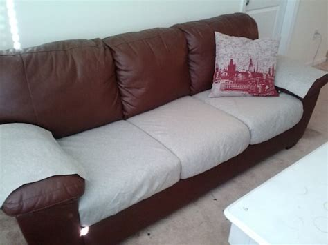 no sew cushion covers sofa the good life blog no sew couch recovery for the home