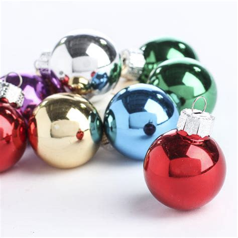 miniature glass ball ornaments christmas miniatures