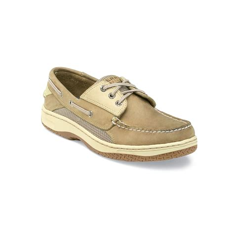 mens sperry sneakers sperry top sider billfish 3 eye boat shoes in beige for