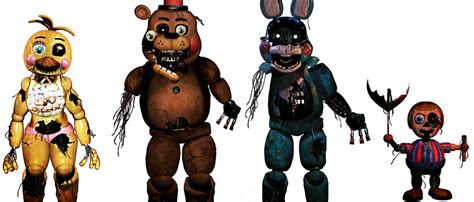 5 nights at freddy s toys five nights at freddy s withered toys by christian2099