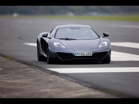 2012 mclaren mp4 12c grey front angle speed 5 1280x960