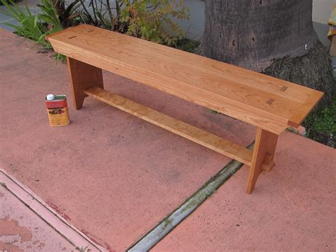 shaker style benches shaker style bench in cherry by jackmoony lumberjocks