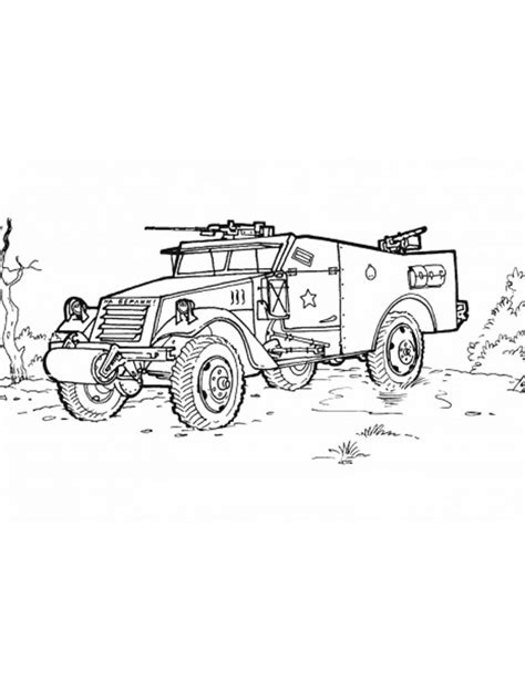 Army Vehicles Coloring Pages Vehicles Coloring Pages