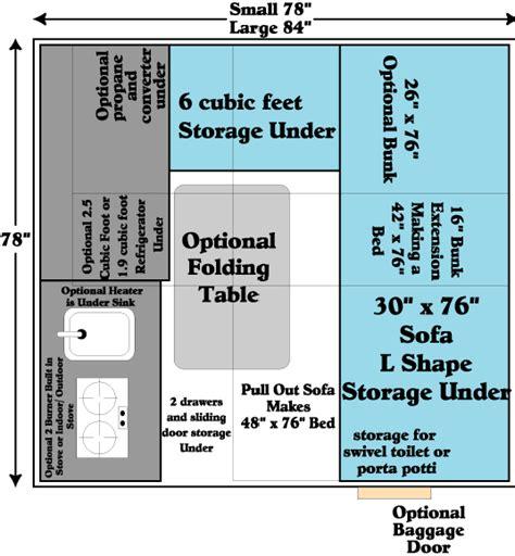 aliner floor plans truckcabinfreedom1