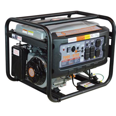 portable electric generator portable generators generators the home depot