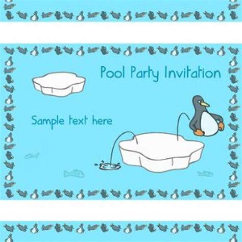 Nella Pinguin Set penguin pool biglietto d invito scaricare vettori